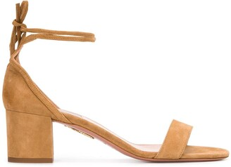 Aquazzura City block-heel 60mm sandals