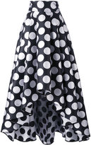 Ultràchic - polka dot maxi skirt - women - Silk/Polyester - 42