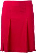Cacharel pleated detail mini skirt