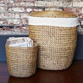 west elm Tall Curved Basket