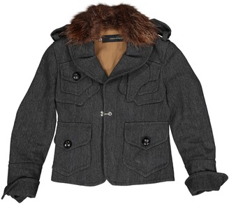 DSQUARED2 Grey Wool Jackets