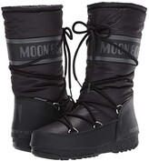 Moon Boot r) High Nylon WP (Black) Women's Boots