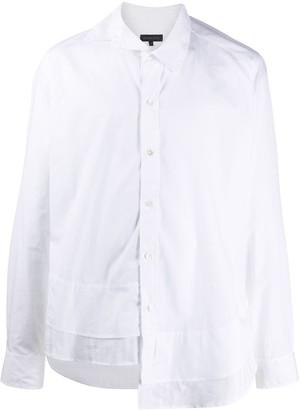 Ann Demeulemeester Asymmetric Button-Up Shirt