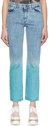 Stella McCartney Blue The Straight Boyfriend Jeans