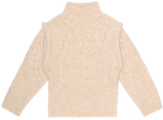 Morley Miss alpaca and wool-blend sweater
