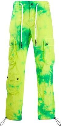 Palm Angels tie-dye army trousers
