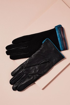 Fiona Wool & Leather Gloves