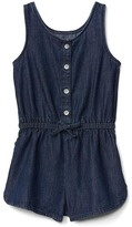 Gap Denim tank romper