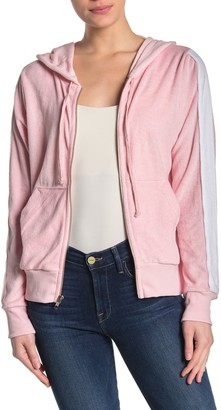 Wildfox Couture Terry Knit Zip Hoodie