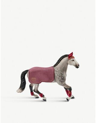 Schleich Horse Club Trakehner mare riding tournament toy
