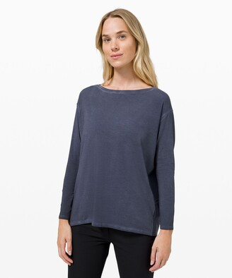 Lululemon Back In Action Long Sleeve *Fade