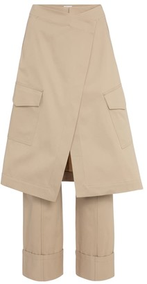 Deveaux Chelsea cotton twill pants