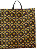 Gucci Men's GG Supreme Cube-Print Tote Bag