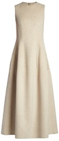 The Row Bonec double-faced sleeveless maxi dress