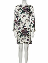 Thumbnail for your product : Ganni Floral Print Mini Dress w/ Tags White