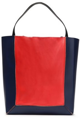 Marni Shopper Two-tone Leather Tote