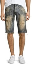 PRPS Beach Day Cutoff Denim Shorts, Indigo