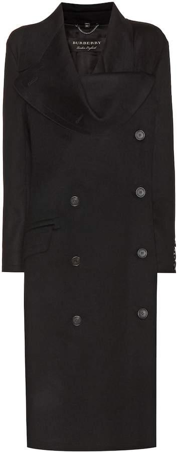 Burberry Asymmetric wool coat