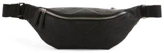 MCM Leather Embossed Frusten Belt Bag