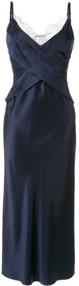 Dion Lee lace detail slip dress