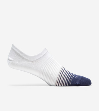 Cole Haan 2-Pair Stripe No-Show Sock Liner