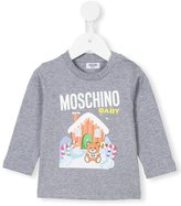 Moschino Kids - teddy bear print top - kids - Cotton - 3-6 mth