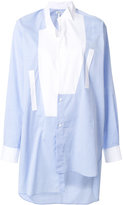 Loewe asymmetric shirt - women - Cotton - 34