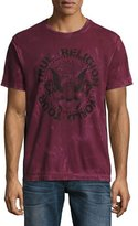 True Religion World Tour Eagle T-Shirt, Wine