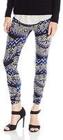 Pure Style Girlfriends Women's Butter Knit Ultra Soft Stretch Leggings