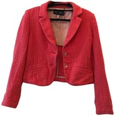 Armani Jeans Pink Cotton Jacket for Women