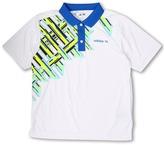 adidas Kids - Fashion Performance Digital Plaid Polo (Big Kids) (White/Moonrock/Highlighter/Chrome/Black/Galaxy) - Apparel