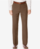 Perry Ellis Men's Classic-Fit Non-Iron Performance Nailhead Dress Pants