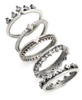 Kendra Scott Women's Set Of 5 Violette Rings