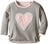Hatley Metallic Hearts Graphic Tee (Toddler/Little Kids/Big Kids)