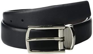 Calvin Klein 30 mm Reversible Feather Edge (Black/Brown) Men's Belts