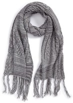 BP Women's Cable Knit Oblong Scarf