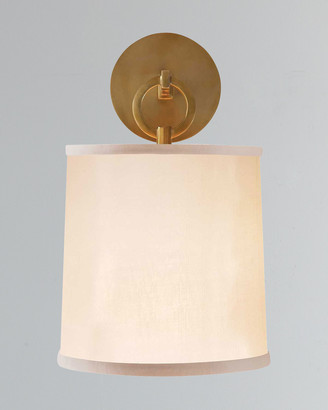 Visual Comfort French Cuff Brass Sconce
