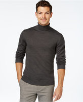 Vince Camuto Ribbed Wool Turtleneck Sweater