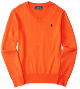 Ralph Lauren Elbow-patch Cotton Sweater