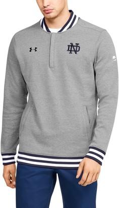 Under Armour Men's UA Double Knit Collegiate Zip