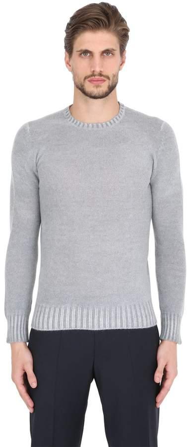 Drumohr Faded Lambswool Crew Neck Sweater