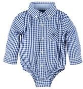 Andy & Evan Infant Boy's Gingham Check Bodysuit