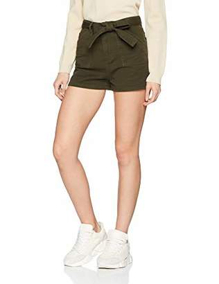 New Look Women's Utility Patch Pocket Shorts, ), 8 (Size:8)