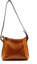 Patricia Del Castillo Dual Tone Leather Bag