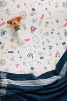 Anthropologie Peached Cotton Crib Sheet