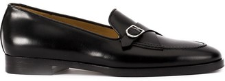 Edhen Milano Buckle Monk Shoes