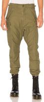 R 13 Surplus Military Cargo Pants in Green.