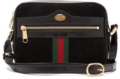 5ab92552c0d Gucci Suede Bag - ShopStyle