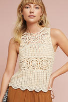 Astr Noelle Crocheted Tank Top