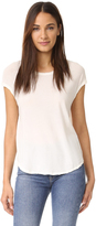 James Perse Circular Shell Top
